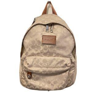Coach Signature Backpack 35033 Monogram Canvas Bag